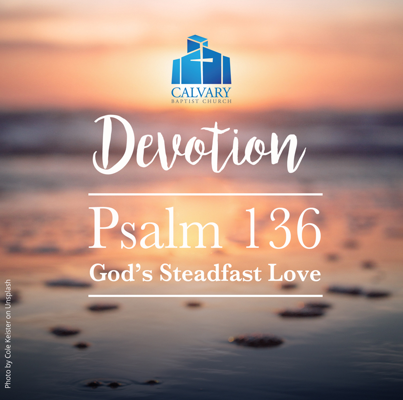 God's Steadfast Love
