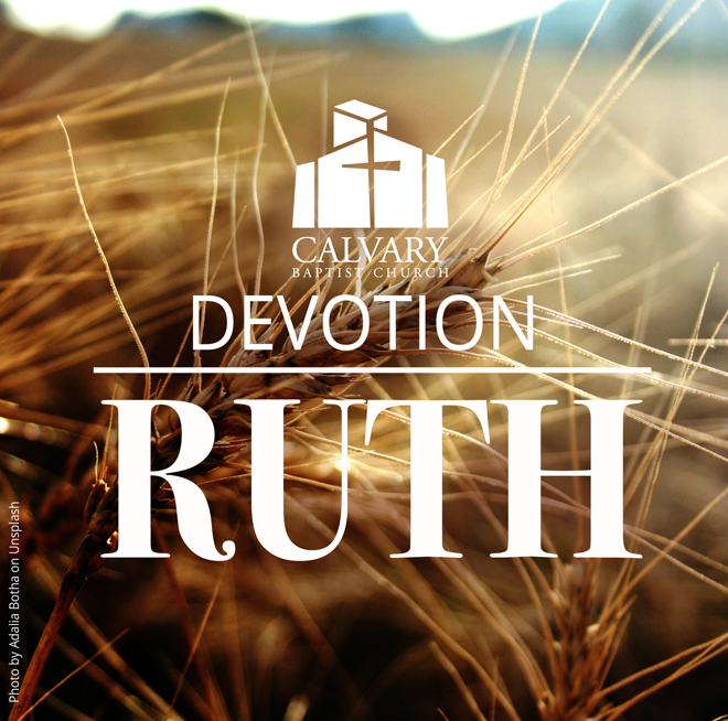 Devotion on Ruth